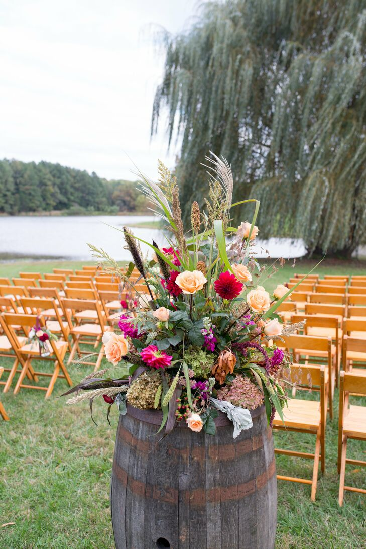 A Chic Rustic Wedding At Trump Winery In Charlottesville