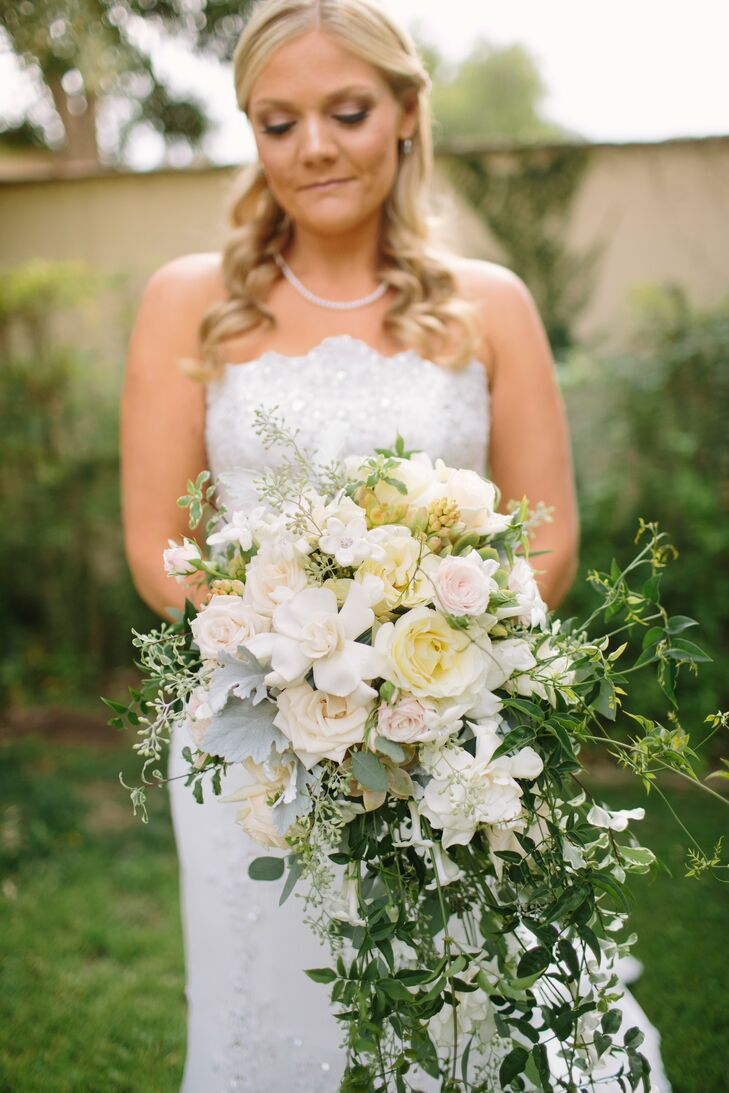 Blush and Cream Bridal Bouquet