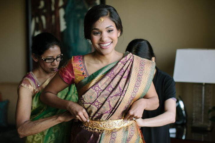 Traditional Indian Bridal Attire