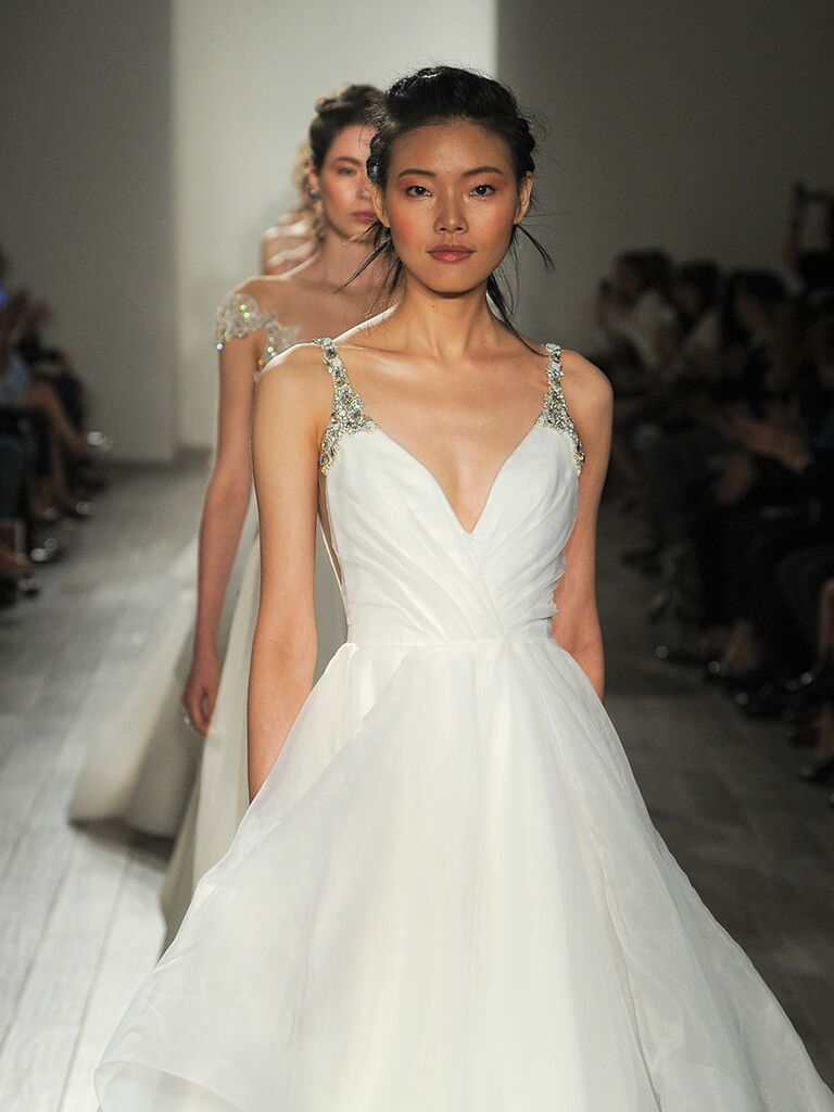 Hayley paige fall 2017 collection bridal fashion week photos hayley paige fall 2017 bridal fashion week wedding dress photos junglespirit Gallery