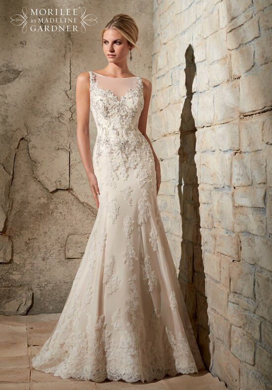 Mori Lee by Madeline Gardner 2709 Wedding Dress photo