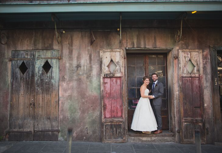 A Rustic New Orleans Inspired Wedding At Preservation Hall In Louisiana
