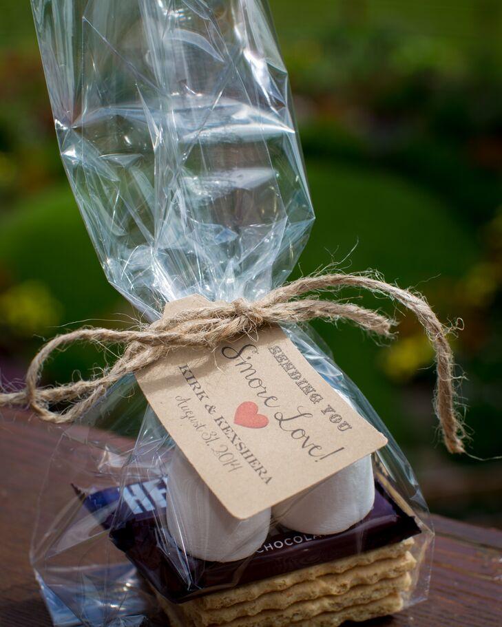 Smores Kit Wedding Favor