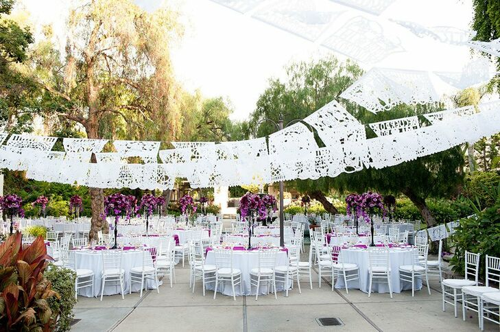 An Outdoor Wedding At The Los Angeles River Center And Gardens In Los Angeles California