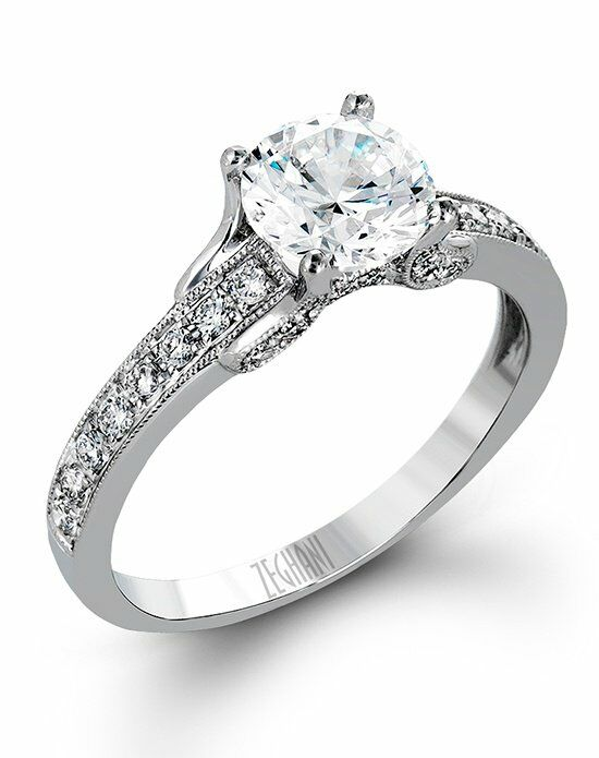 Zeghani ZR1248 Engagement Ring photo