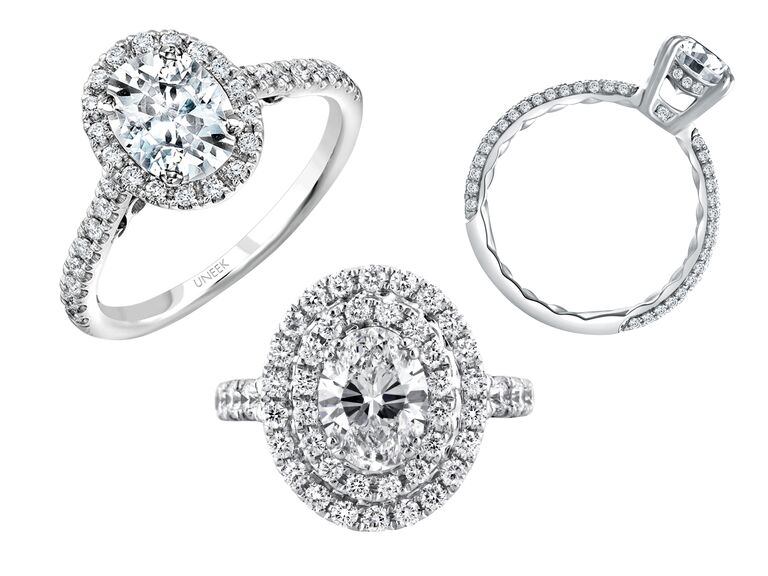 Oval Engagement Rings