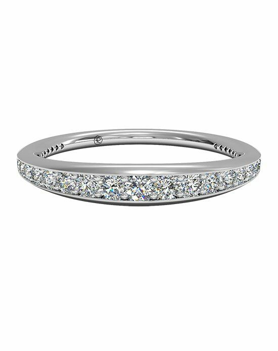 Ritani Women's Pavé Diamond Wedding Band in Platinum (0.35 CTW) Wedding Ring photo