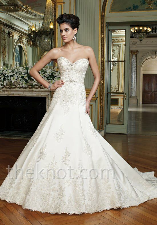 David Tutera for Mon Cheri 212250 Wedding Dress photo