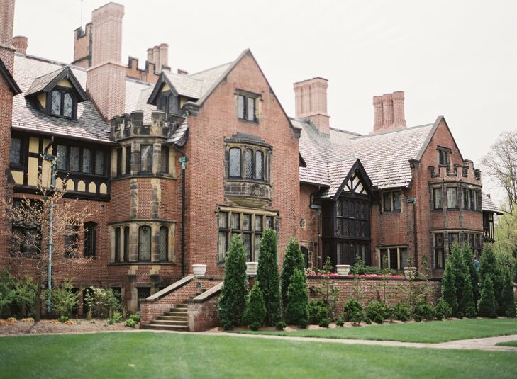 Stan Hywet Hall and Gardens in Akron, Ohio, is the nation's sixth largest historic home open to the public. The estate includes five buildings and eight gardens spread across 70 acres.