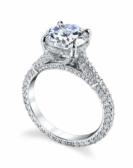 Michael B. Florence Exotique Engagement Ring photo