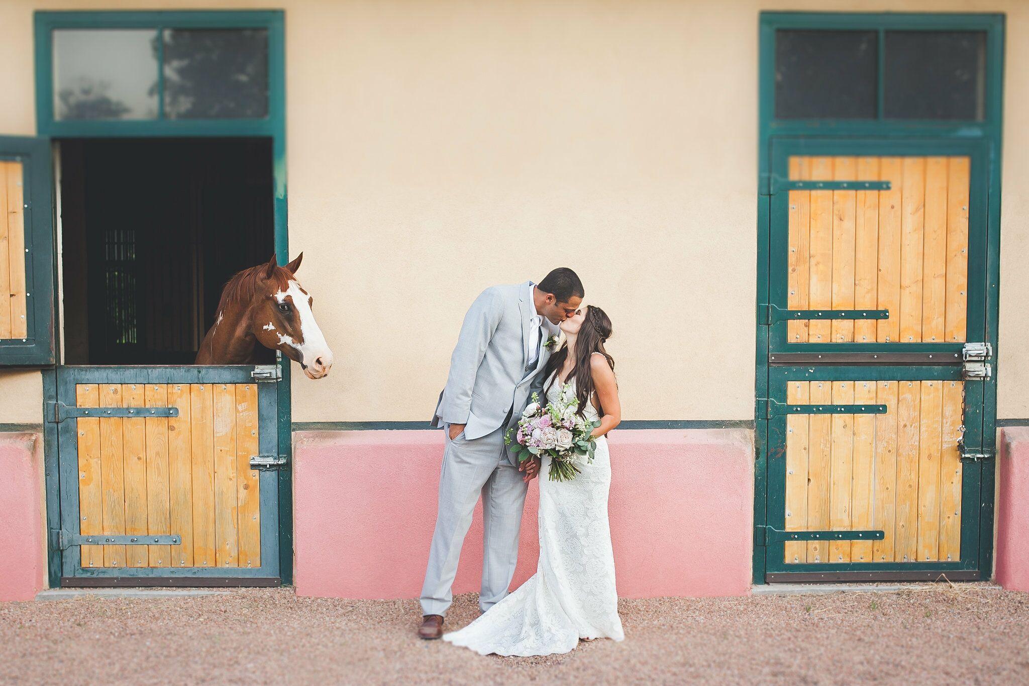 Cheap Wedding Dresses Albuquerque: A Rustic Outdoor Wedding At La Mesita Ranch In Santa Fe