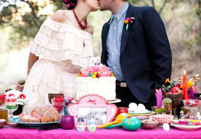 Wedding Cakes Tulsa Lovely Mexican Day Of the Dead Wedding On ...