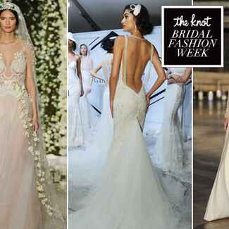Sexy Dresses from Bridal Fashion Week | Blog.theknot.com