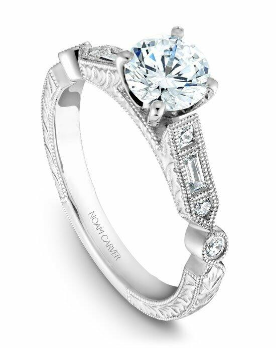 Noam Carver B053-01WS-100A Engagement Ring photo