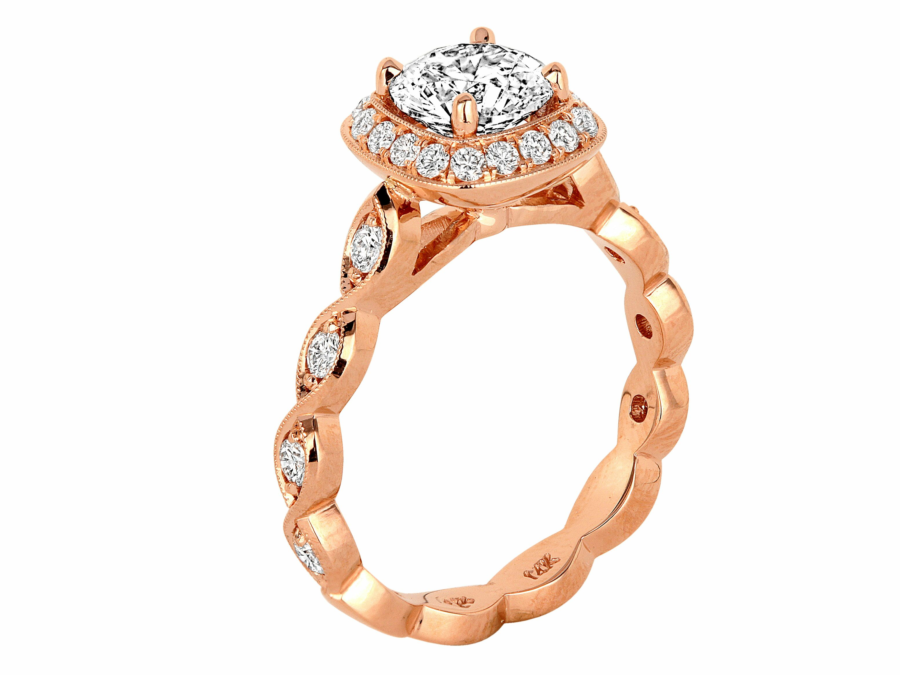 trends ring shaped content diamond popular engagement oval