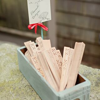 Real Summer Wedding Favors