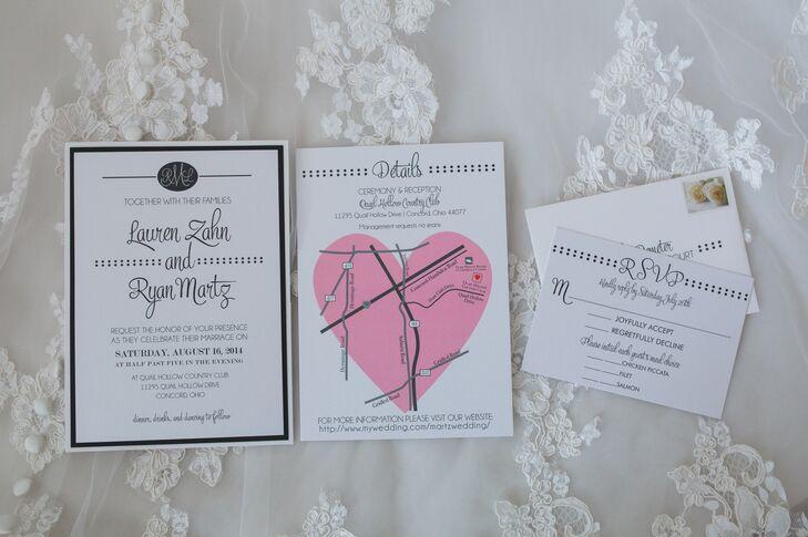 Wedding Invitations Cleveland: An Elegant, Classic Wedding At Quail Hollow Country Club