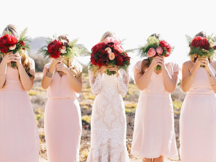 Real Weddings By Color: Most Popular Wedding Colors From The Knot 2016 Real