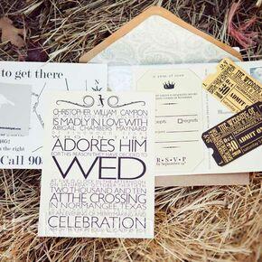 vintage style wedding invitations - Vintage Style Wedding Invitations