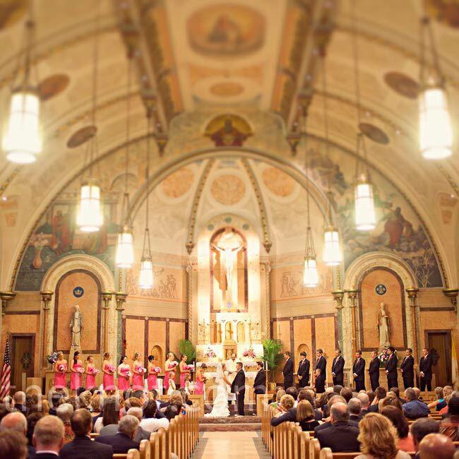 Wedding Flowers Lancaster Pa: St. Anthony Of Padua Church Wedding Ceremony