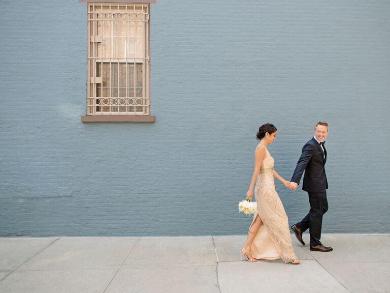 Estilo de vida de la boda de la fotografía
