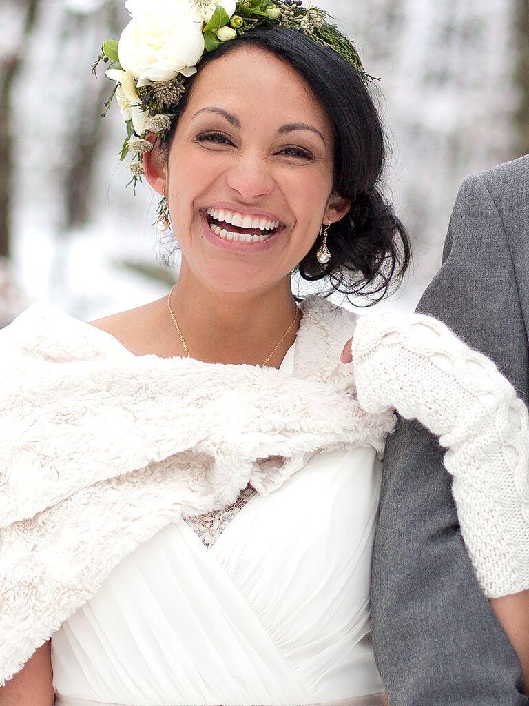 Gorgeous Makeup Looks For Brunette Brides