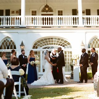 A Southern Plantation Wedding in Charleston