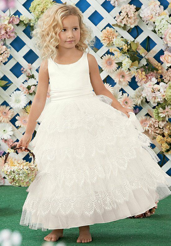 Sweet Beginnings L457 Flower Girl Dress photo
