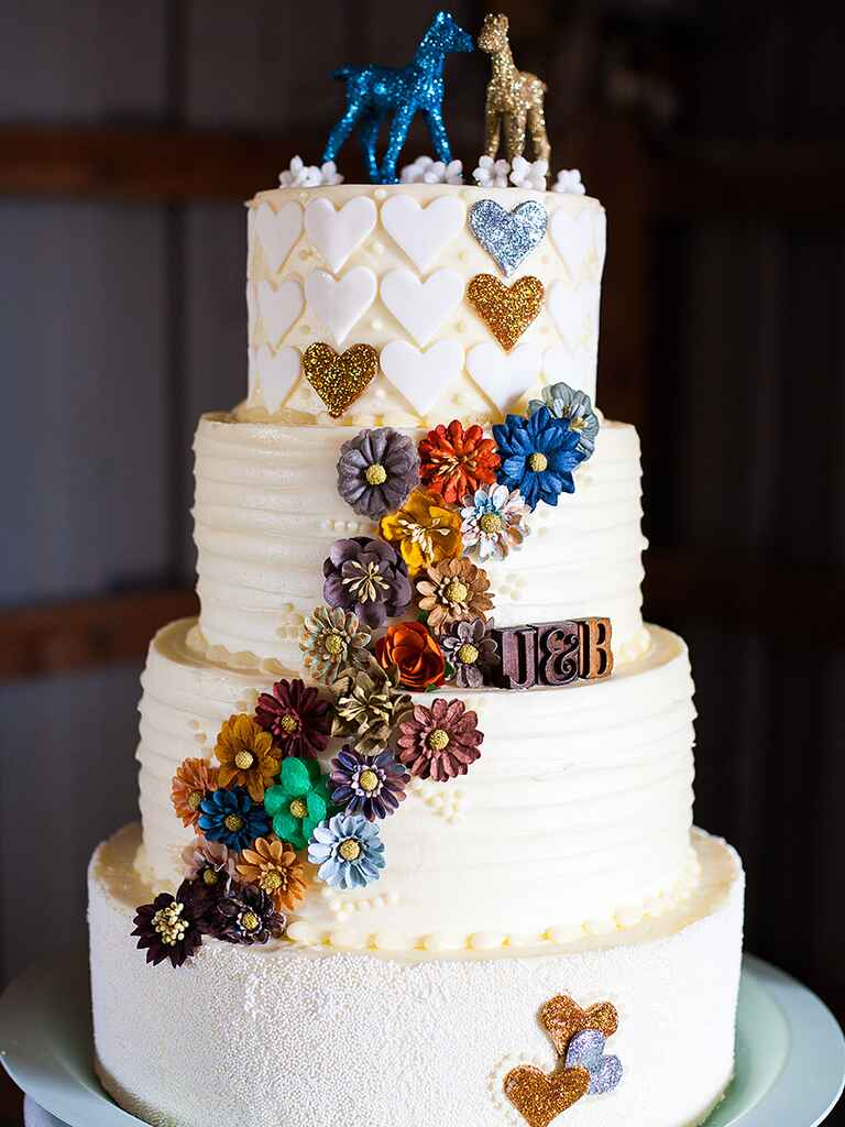 Rustic Wedding Cake Topper Ideas