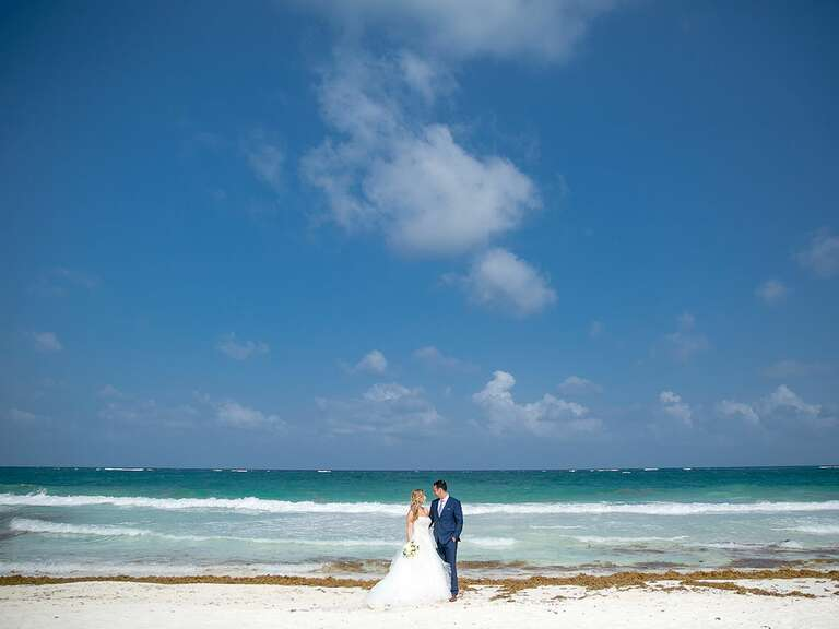 Sneak Peek A Beach Destination Wedding At Casa Malca In Tulum Mexico