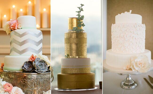Tall Middle Tier Trends For A Dramatic Wedding Cake