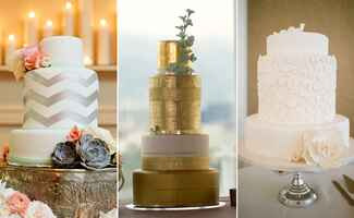 Cakes With Extra-Tall Middle Tiers | blog.TheKnot.com