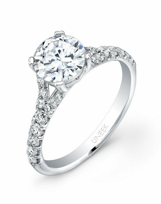 Uneek Fine Jewelry USM09-6.5RD Engagement Ring photo