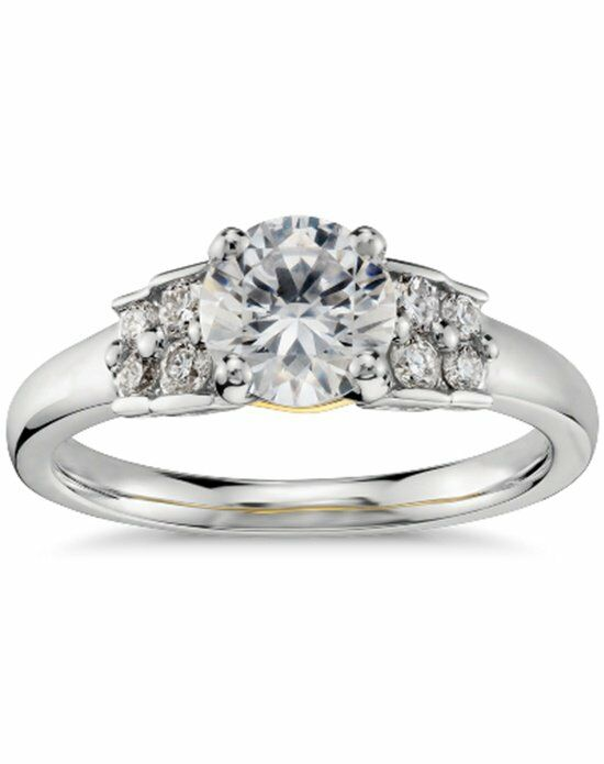 Truly by Zac Posen Pave Diamond Engagement Ring Engagement Ring photo