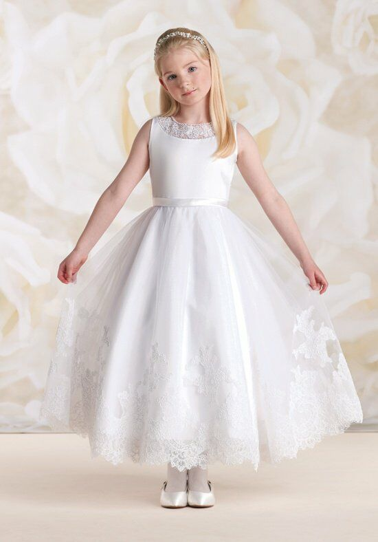 Joan Calabrese by Mon Cheri 115318 Flower Girl Dress photo