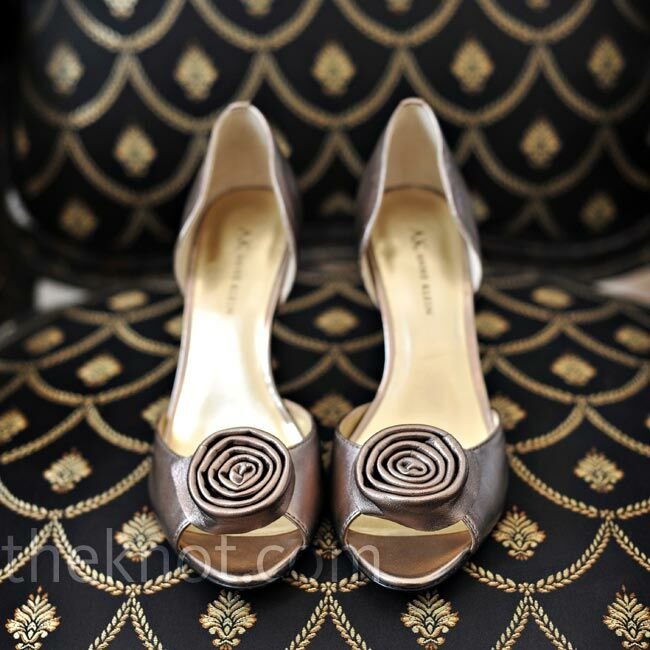 Pewter Heels For Wedding