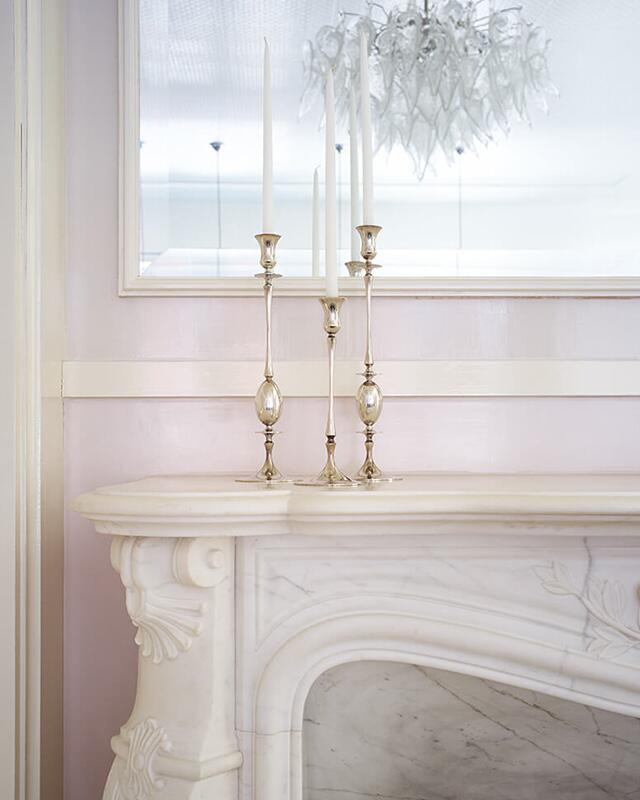 paltrow pink and white fireplace