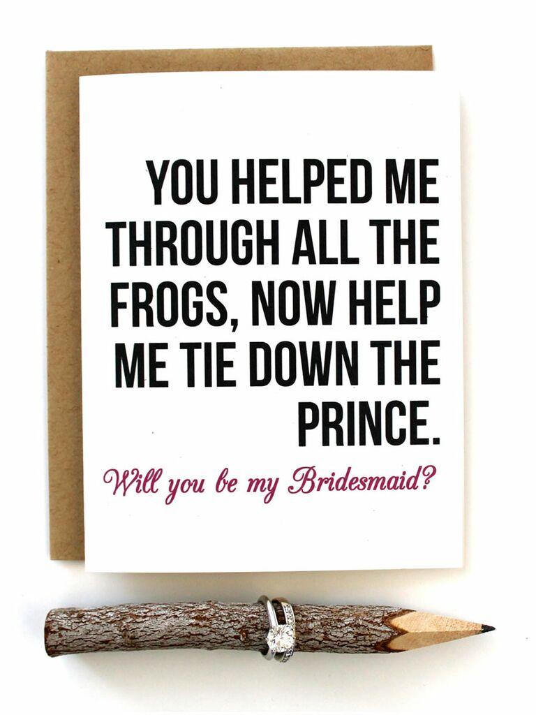 Bridesmaid Invitation Ideas Creative Ways To Ask Your Bridesmaids