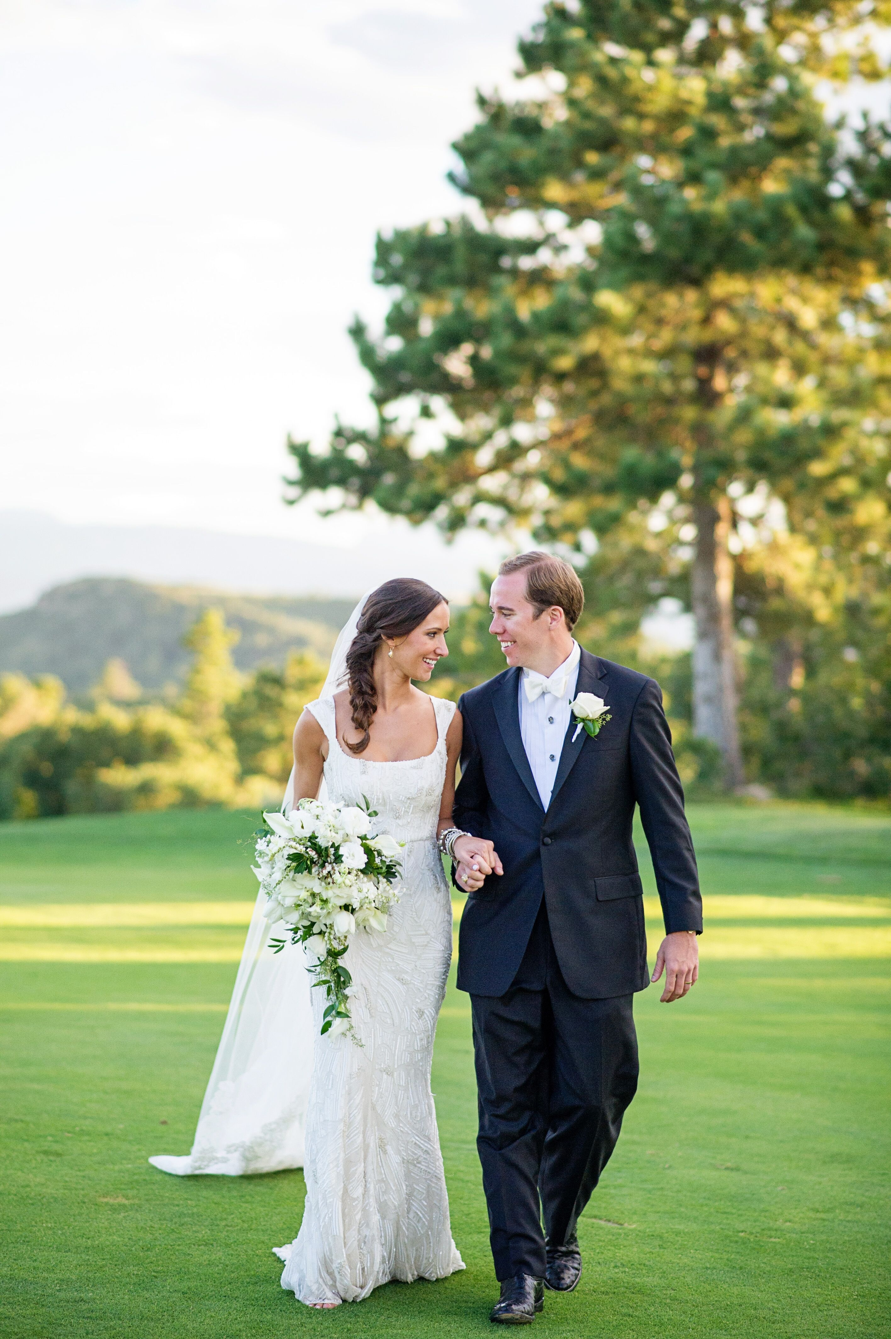 A Classic Black And White Wedding At Sanctuary Golf Course In
