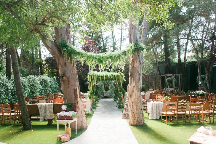 A whimsical romantic wedding at calamigos ranch in malibu for Malibu house rentals for weddings