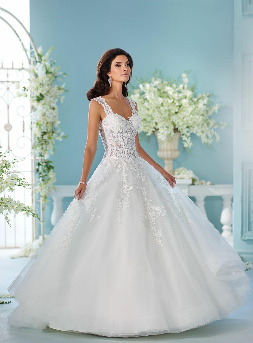 6460319fcc David Tutera Spring 2017 Collection  Bridal Fashion Week Photos