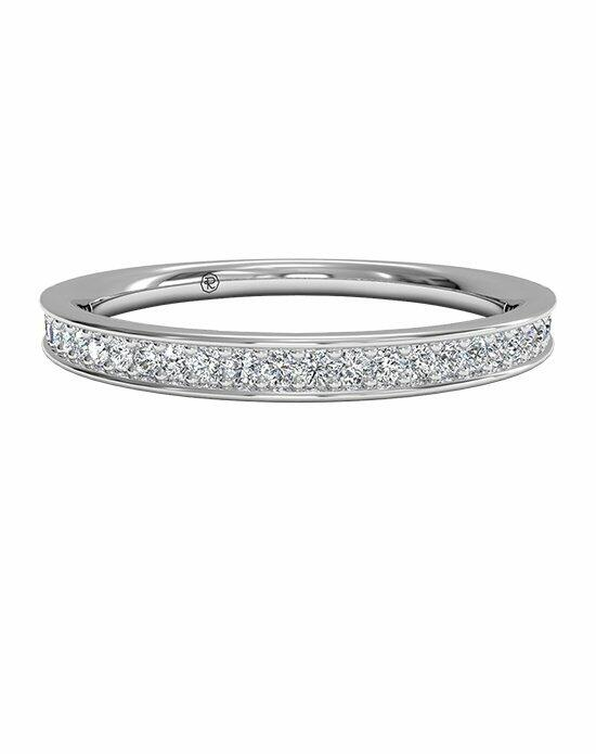 Ritani Women's Micropavé Diamond Wedding Band in Platinum (0.15 CTW) Wedding Ring photo