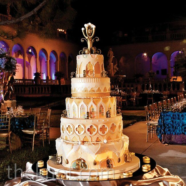 wedding cakes sarasota a tropical glam wedding in sarasota fl 25434