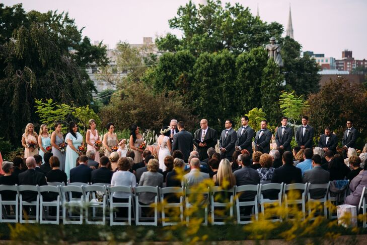 An Elegant Garden Wedding At Phipps Conservatory And