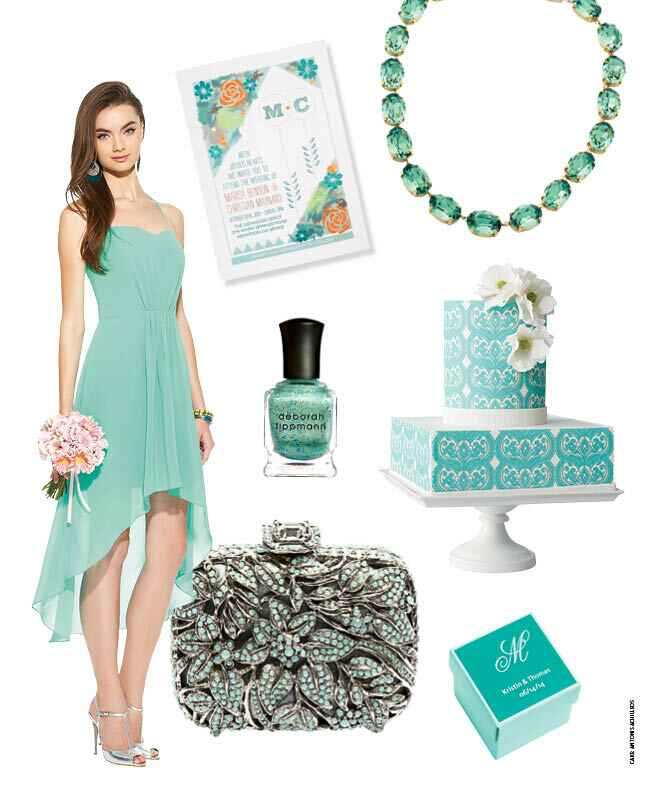 7 Refreshing Seafoam Wedding Ideas