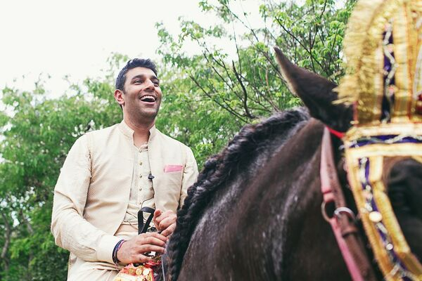 Groom's Baraat to the Ceremony