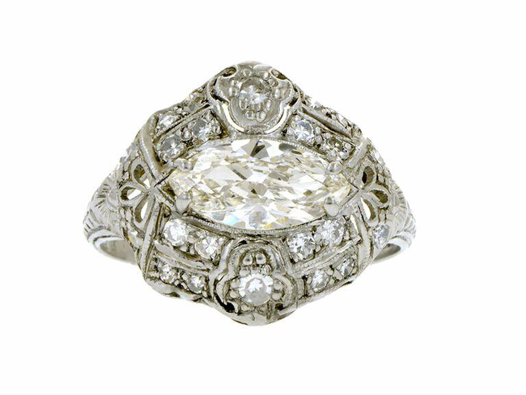 doyle u0026 doyle art deco diamond ring