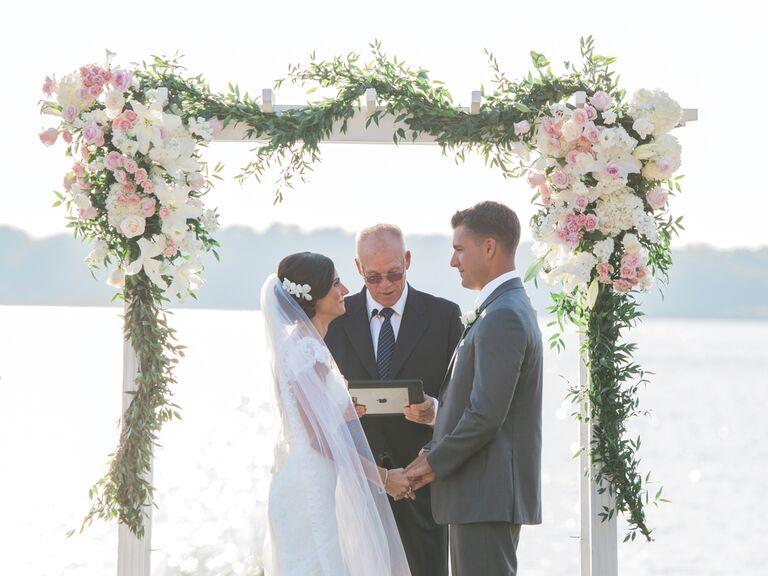 Vow exchange ceremony