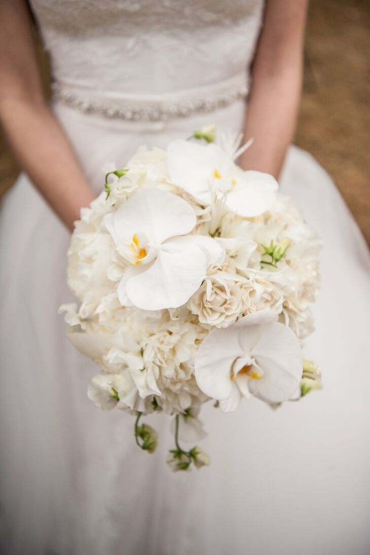 White orchid bridal bouquet mightylinksfo