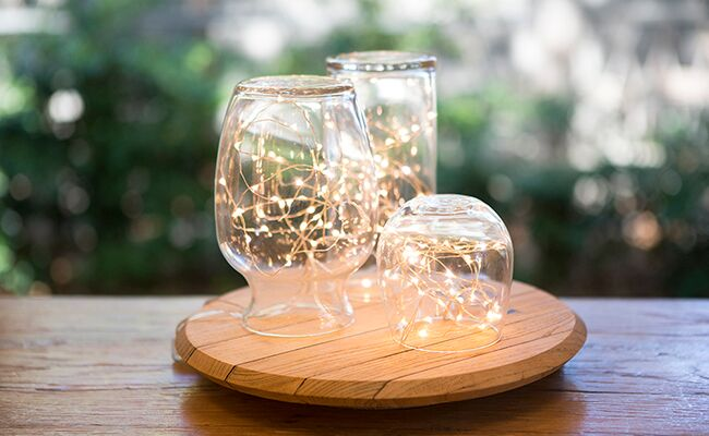 A Simple Tabletop Hurricane Light DIY
